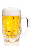 Beer mug, isolated Royalty Free Stock Photos