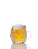 Beer mug isolated on white Stock Photography