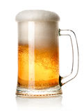 Beer in a mug Stock Image