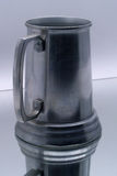 Beer mug on mirror royalty free stock photography