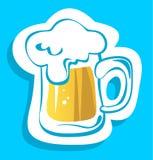 Beer mug Royalty Free Stock Images