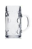 Beer mug on white Royalty Free Stock Image