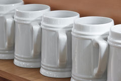 Beer mugs Royalty Free Stock Photo