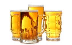 Beer of mugs Royalty Free Stock Photos
