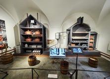 PRAGUE, CZECH REPUBLIC - SEPTEMBER 6, 2017. Beer museum, Prague, Czech Republic. Beer museum, Prague, Czech Republic Stock Images