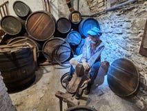 PRAGUE, CZECH REPUBLIC - SEPTEMBER 6, 2017. Beer museum, Prague, Czech Republic. Beer museum, Prague, Czech Republic Stock Photography