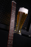Beer and music Royalty Free Stock Photo