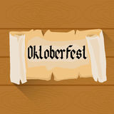 Beer Oktoberfest Festival Holiday Decoration Banner Royalty Free Stock Images