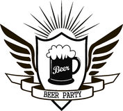 Beer party Royalty Free Stock Images