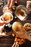 Beer party. Stock image Royalty Free Stock Photography