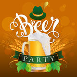 Beer Party Royalty Free Stock Photography