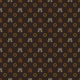 Beer pattern - vector alcohol seamless texture Stock Photo