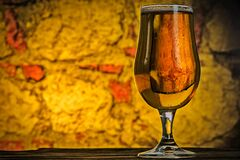 Beer, A Pint, Vintage, Drink, Cup Royalty Free Stock Image
