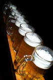 Beer pints Stock Photography