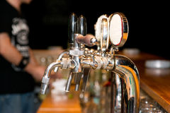 Beer pipes Stock Photography
