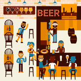 Beer Place Royalty Free Stock Photography