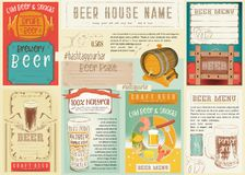 Beer Placemat Stock Photos
