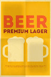 Beer Posters Stock Photos