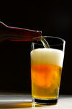 Beer pour Royalty Free Stock Photos