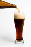 Beer pouring into a mag Royalty Free Stock Photo
