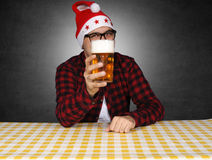 Beer present Stock Image