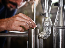Beer production Stock Images