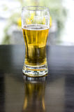 Beer on pub table Stock Photo
