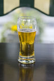 Beer on pub table Stock Images