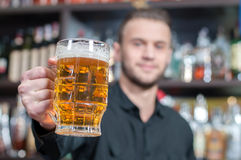 Beer Pub Stock Photography