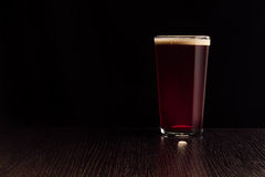 The beer red ale. Royalty Free Stock Image