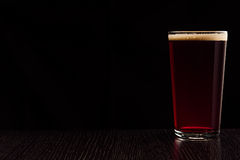 The beer red ale. Stock Photo