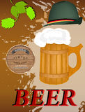Beer Restaurant menu Royalty Free Stock Photo