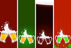 Beer's banners Stock Photo