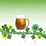 Beer for Saint Patricks Day Royalty Free Stock Image