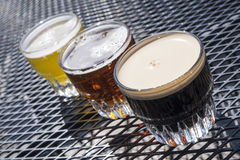 Beer Sampler #1 Royalty Free Stock Images