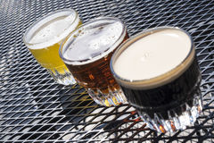 Beer Sampler #3 Royalty Free Stock Photos