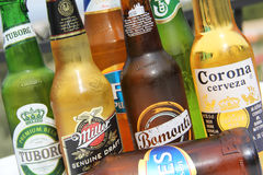 BEER SELECTION Royalty Free Stock Photography