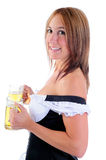 Beer Server Royalty Free Stock Image