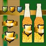 Beer set Royalty Free Stock Photos