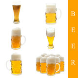 Beer set Stock Images