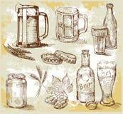 Beer set Stock Photo