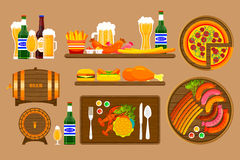 Beer set 1 Royalty Free Stock Image