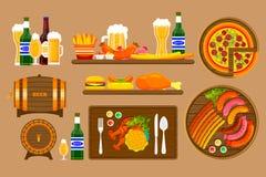 Beer set 1 Stock Image