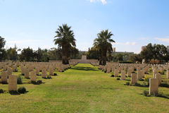 Beer Sheba War Cemetery Stock Photography