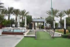 Beer Sheva, Israel 13 de abril, casandose el jardín Fotografía de archivo libre de regalías