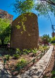 BEER-SHEVA, ISRAEL- MAY 10, 2014: Water tower of the Ottoman Emp Royalty Free Stock Photos