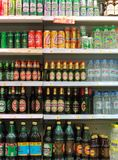 Beer in the shop Royalty Free Stock Image