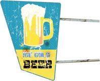 Beer sign Stock Images