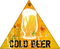 Beer sign Royalty Free Stock Images