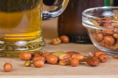 Beer Snacks Stock Images